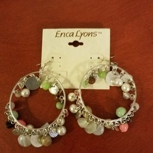 Erica Lyons large hoop earrings